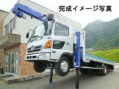 22066FJ 日野増セルフクレーン 4ダン ラジコン フックイン